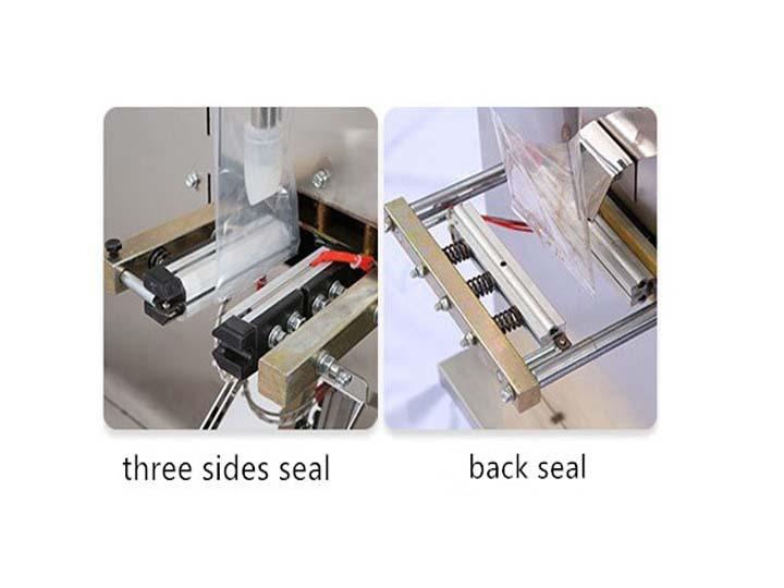 Paste packaging machine sealing method