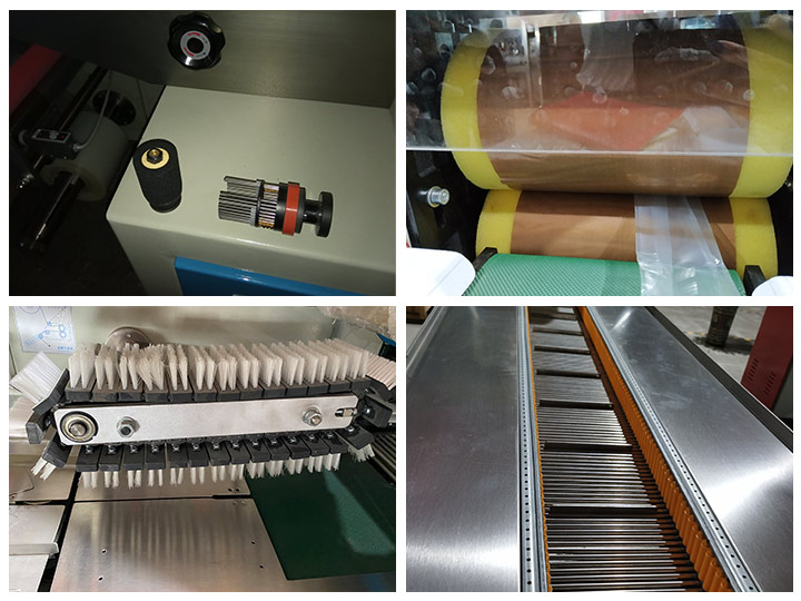 The structure details of Pillow type Packaging Machine