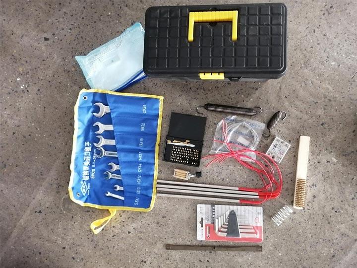 Toolbox-of-granule-packing-machine