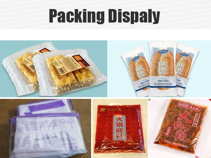 biscuits packing and other products packing