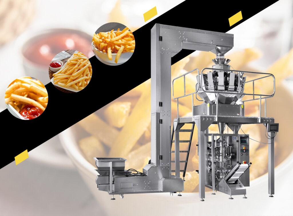 large combination weigher packaging machine