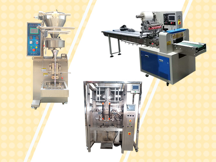 Various types of packaging machines