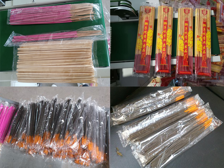 pack display of Counting Agarbatti Incense Stick Packing Machine