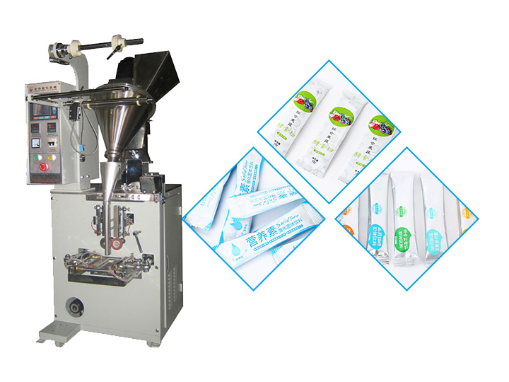 Small Enzyme Powder Pouch Packaging Machine