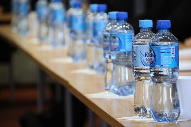Bottled water filling