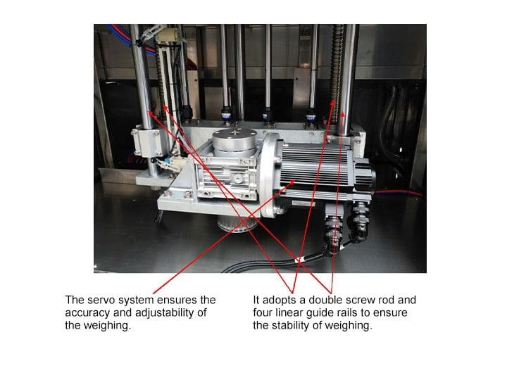 filling machine motor