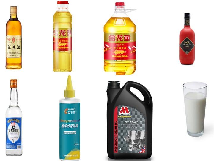 liquid and paste packing machine