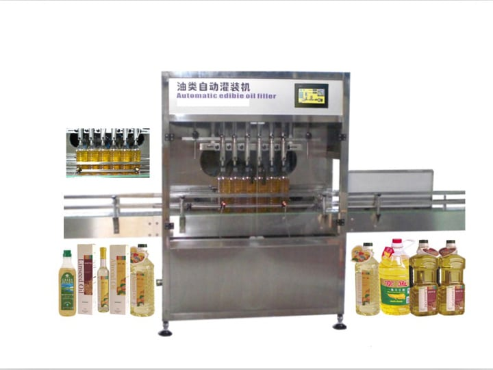 oil-or-water-filling-machine