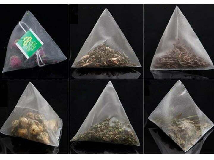 nylon-triangle-tea-bag