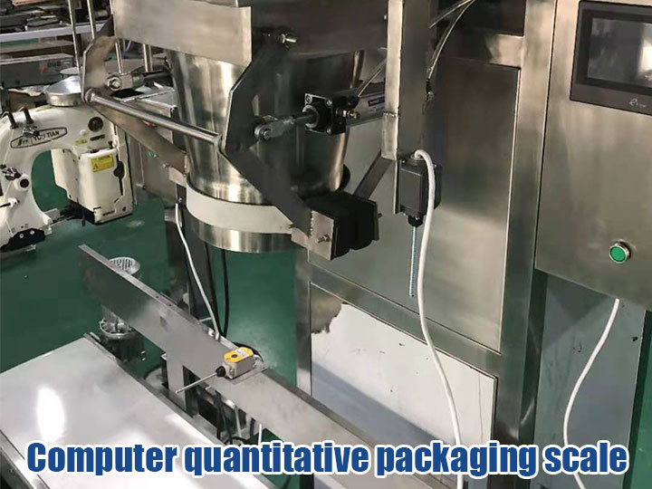 Computer automatic packaging scale