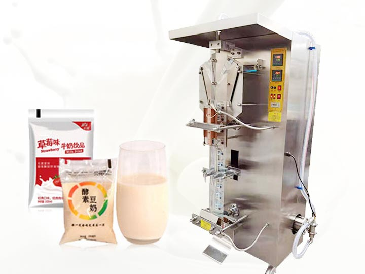 milk plastic packing machine