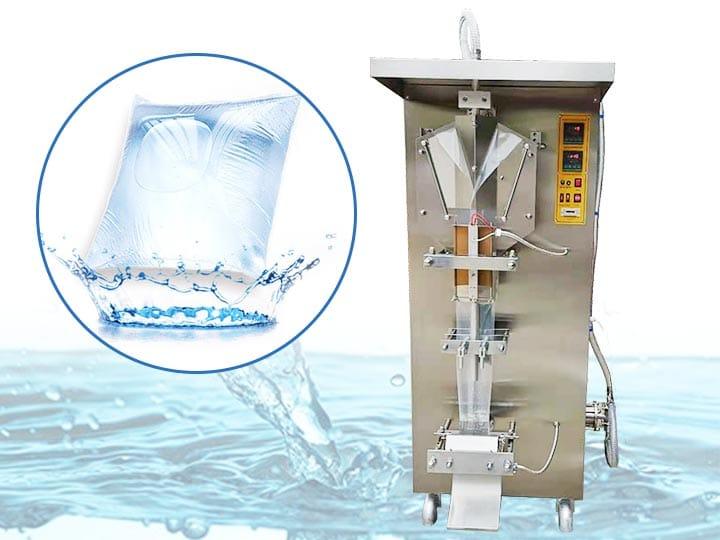 sachet water packing machine