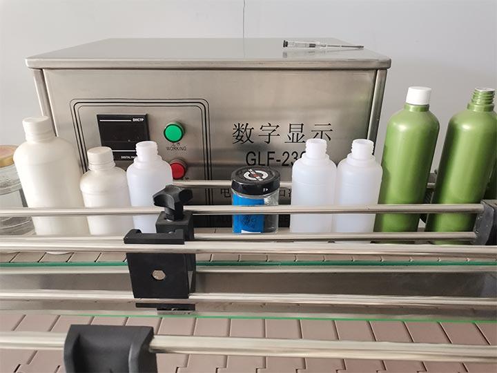 conveyor of automatic liquid filling machine