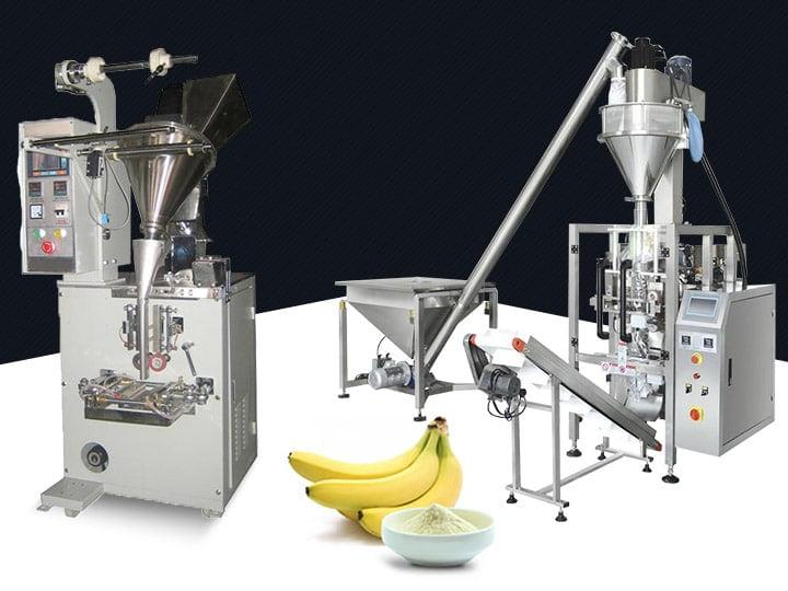 Plantain flour packaging machine